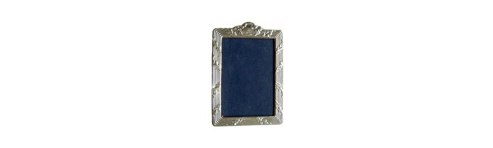 Regency Style Silver Photo Frame
