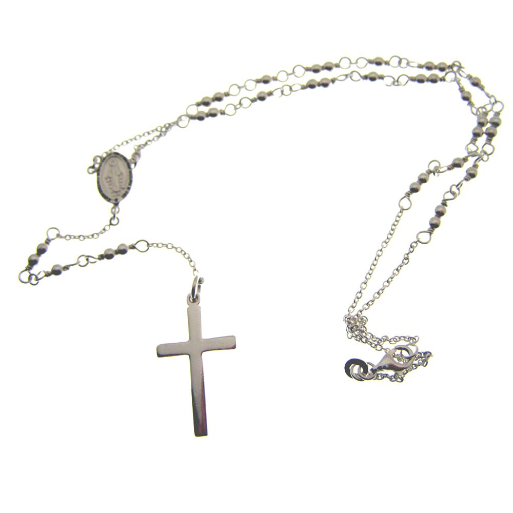 Sterling Hallmarked Silver Rosary beads