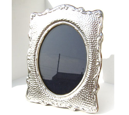 hallmarked silver arts and crafts style picture frame