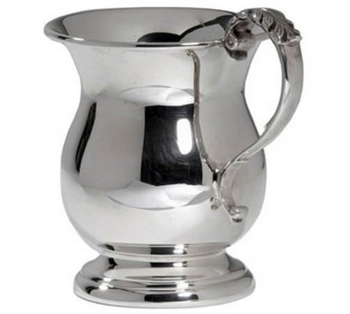 hallmarked silver georgian style christening cup