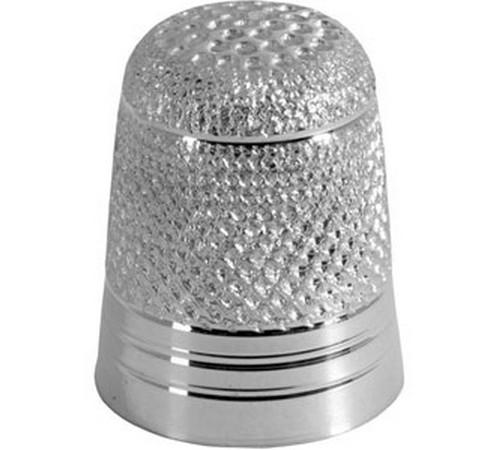 Hallmarked Sterling Silver Sewing Thimble