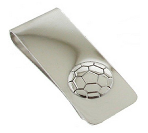 hallmarked silver football money clip