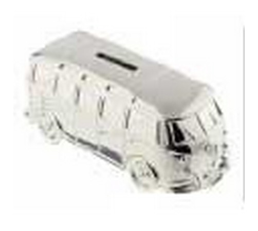silver plated camper van money box