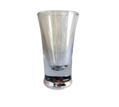 hallmarked silver shot glass