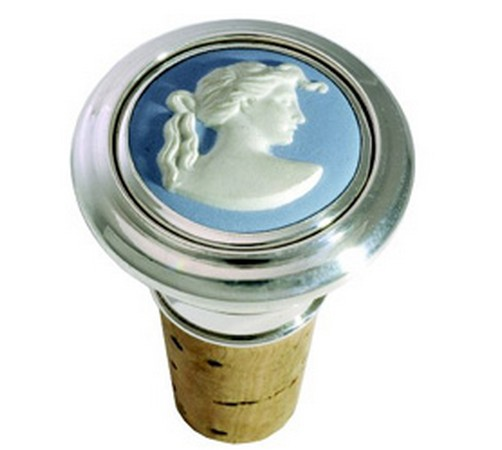 hallmarked silver wedgwood bottle top