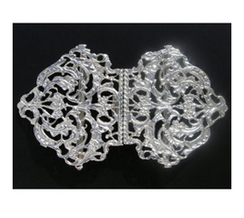 sterling silver nurses buckle hallmarked