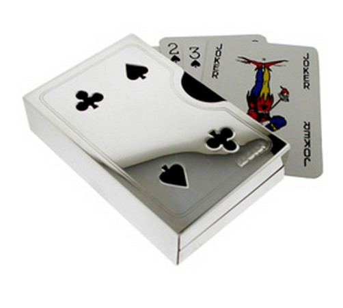 hallmarked silver playing card case