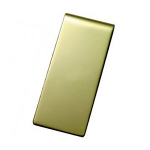 hallmarked solid 9 carat gold money clip 19mm wide