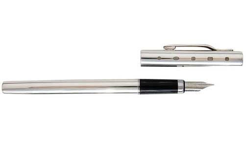 english made josiah mason range hallmarked silver fountain pen