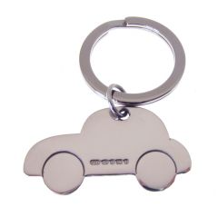 Silver Car Key Ring