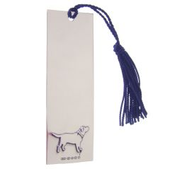 Sterling Silver Dog Bookmark