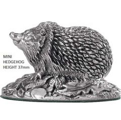 Hallmarked Silver Miniature Hedgehog