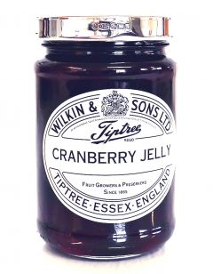 Hallmarked Sterling Silver Wilkins Cranberry Jar
