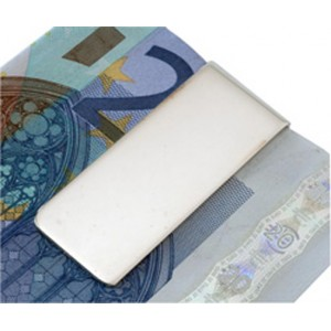Solid Sterling Silver Plain Money Clip