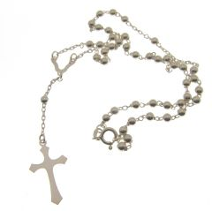 Hallmarked Silver Rosary beads