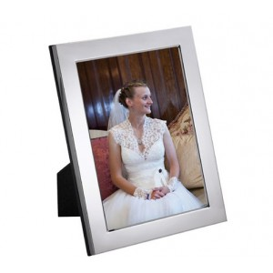 silver photo frame for 7 inch x 5 inch picture from the dublin range