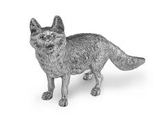 Hallmarked Silver Small Fox Model
