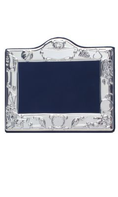 Hallmarked Silver Christening Photo Frame