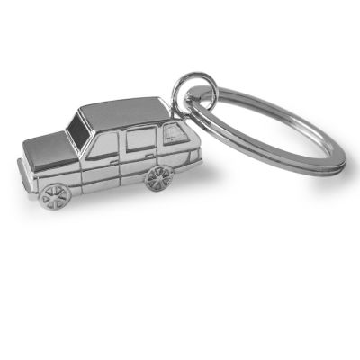 Sterling Silver Range Rover Key ring