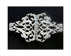 Silver Plated Nurs'se Buckle