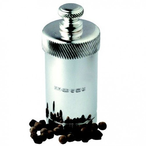 hallmarked silver pocket pepper grinder